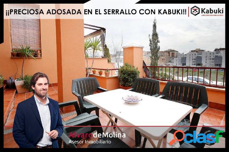 Magnifica casa adosada en Zona Serrallo,, garaje para 2
