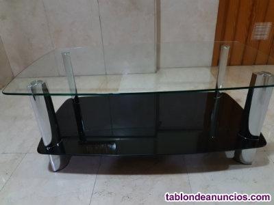 Mesa tv.cristal seminueva