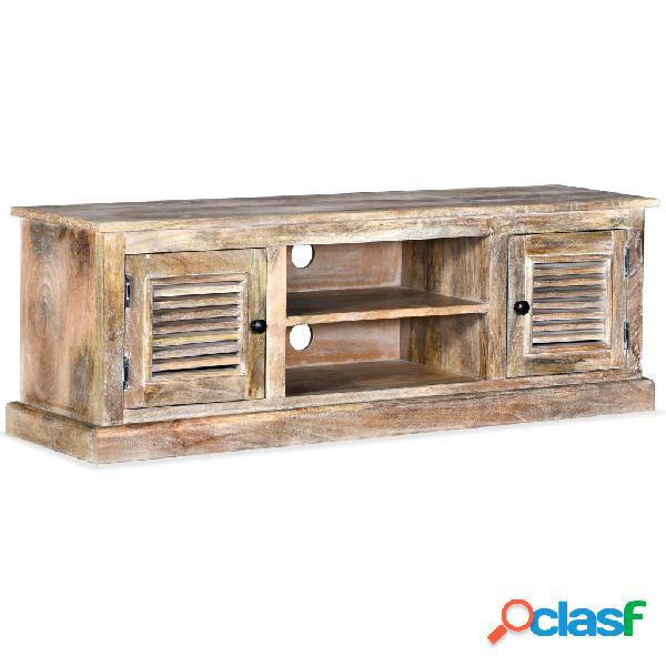 Mueble para la TV de madera maciza de mango