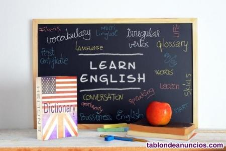 Profesora de inglés a domicilio
