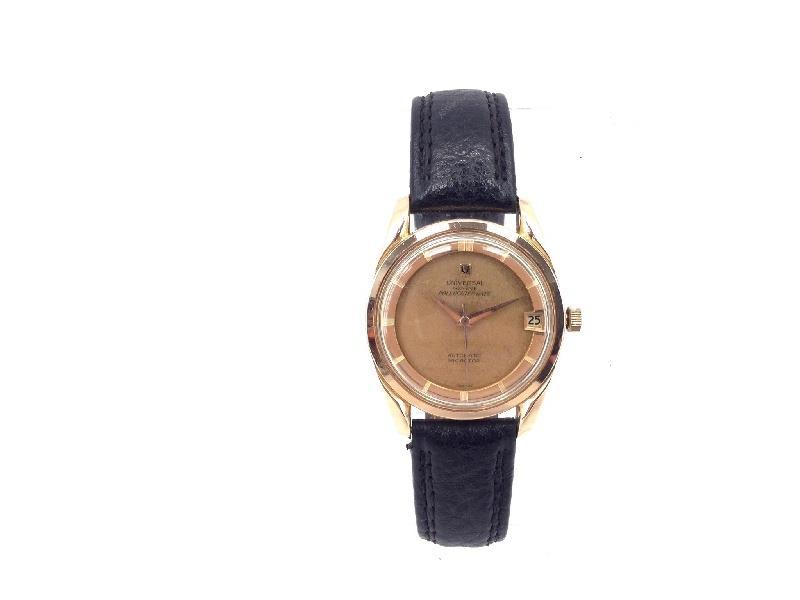 Reloj De Oro Universal Geneve