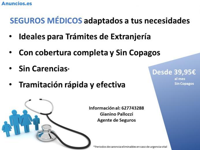 Seguro De Salud, Ideal Para TráMites De ExtranjeríA