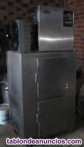 Vendo máquina hielo en escamas con silo