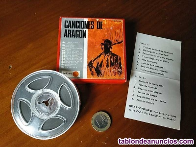 Canciones de aragon cinta magnetofon magnetofonica