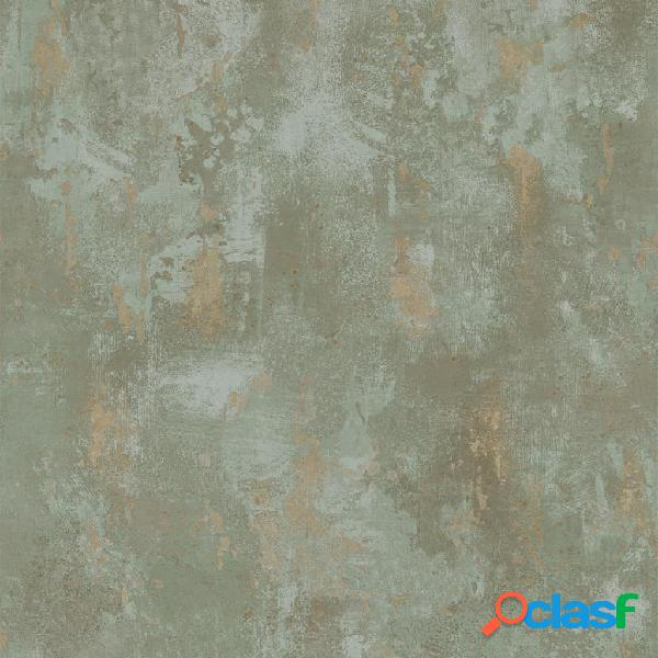 DUTCH WALLCOVERINGS Papel de pared efecto hormigón gris