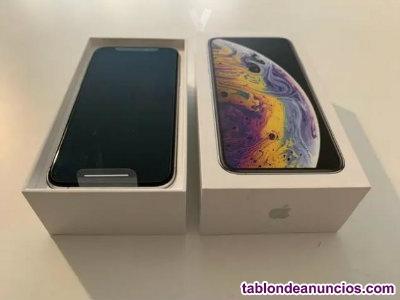 Iphone xs silver. Nuevo, sin estrenar. Factura