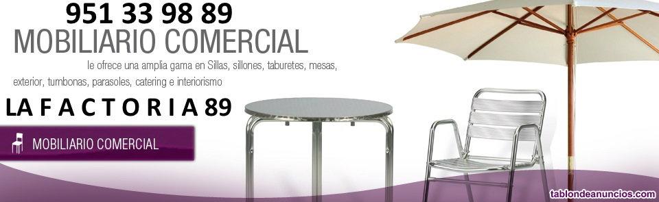 Mobiliario de hosteleria nuevo en madrid