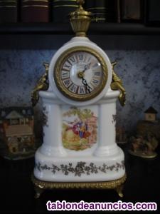 Reloj bologne en cerámica y bronce modelo parís