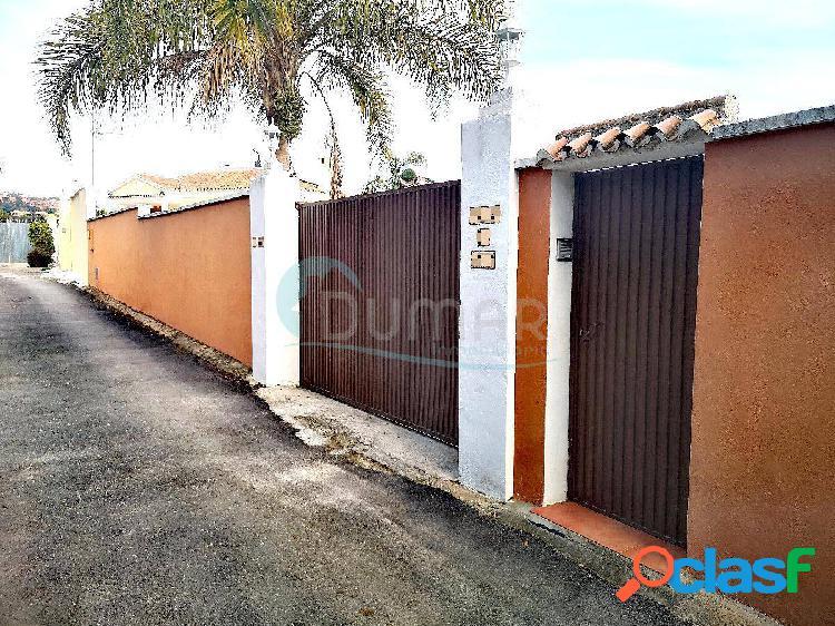 Se vende finca con casa en zona Guadalmina Alta