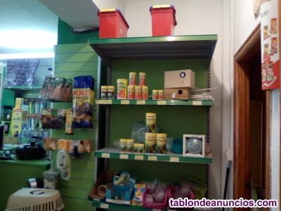 Vendo mobiliario completo tienda de animales