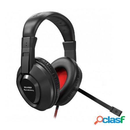 Auricular diadema con microfono mars gaming mh217 -