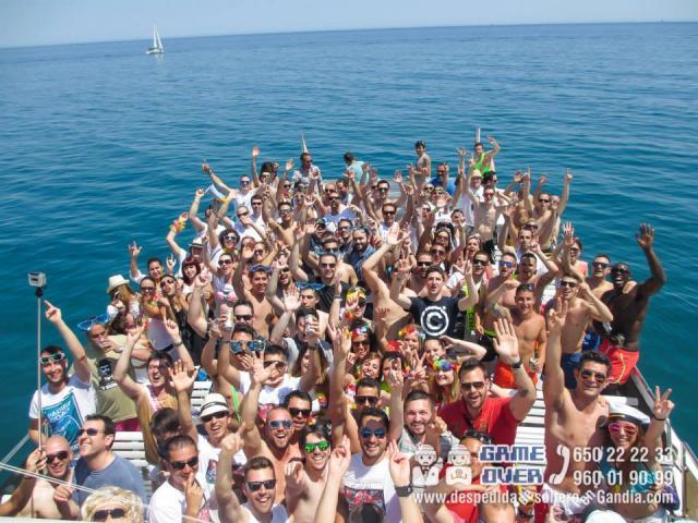 Fiesta en barco para Despedidas en Gandia