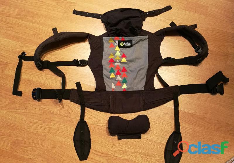 Mochila Porta bebés BOBA 4G con protectores para los