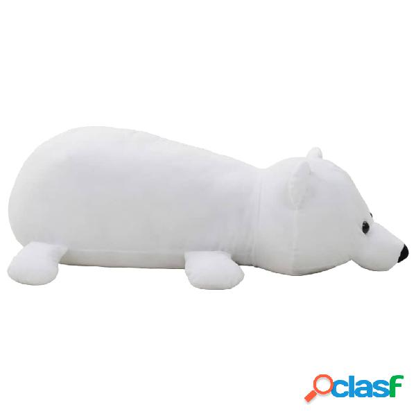 Oso polar de peluche blanco