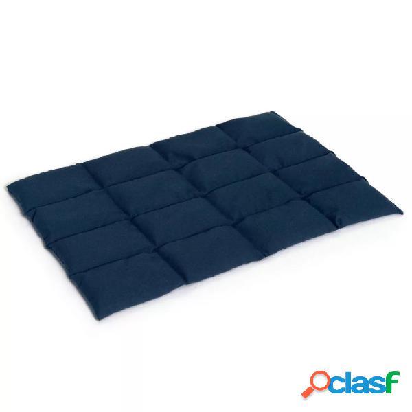 Sissel Bolsa de calor de granos de lino Linum 45x30cm azul