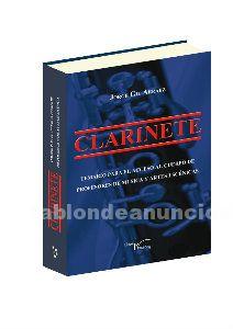 Venta temario clarinete. Nueva edicion
