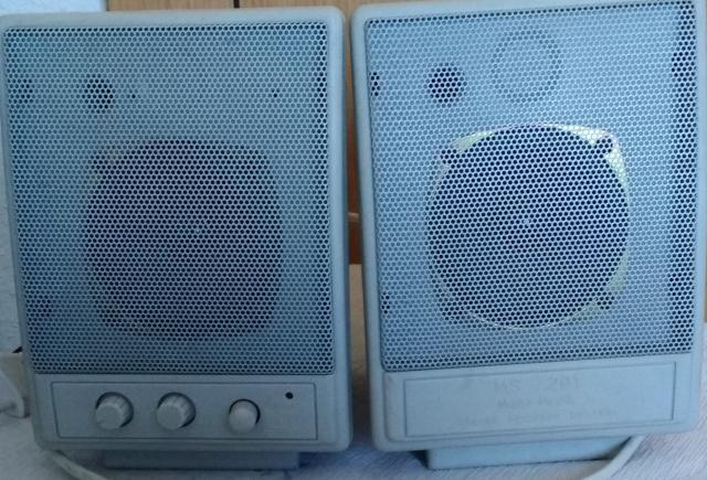 Multi-Media, Stereo Speaker System