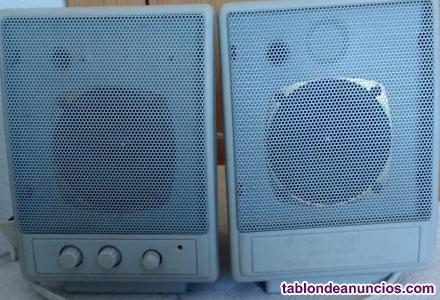 Altavoces multi-media, stereo speaker system