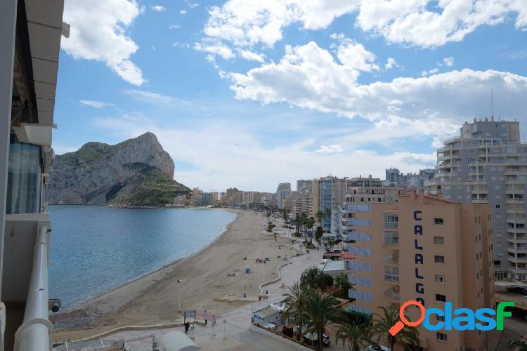 Apartamento en 1ª línea de playa en playa de la Fossa