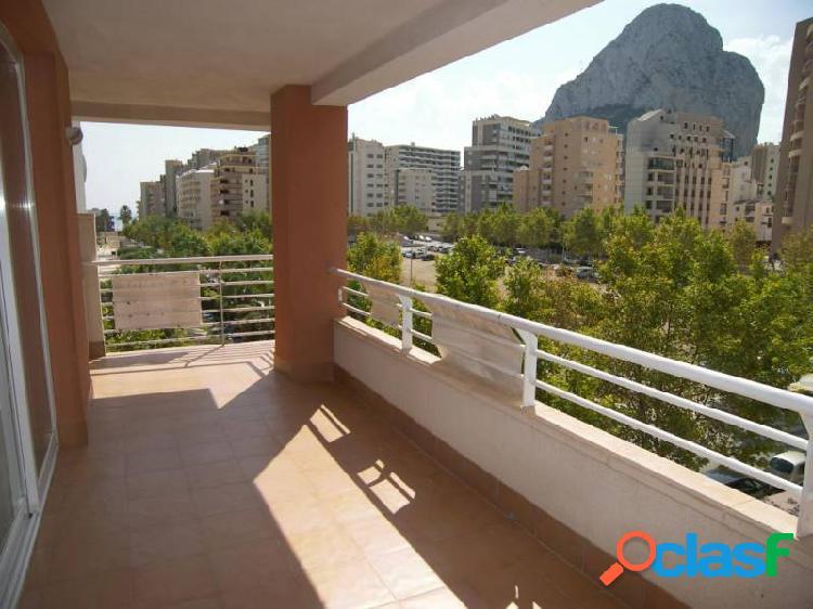 Apartamento en Calpe zona Playa De Levante con vistas al