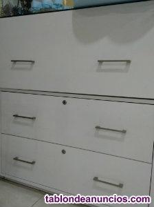 Muebles vitrinas - cajoneras