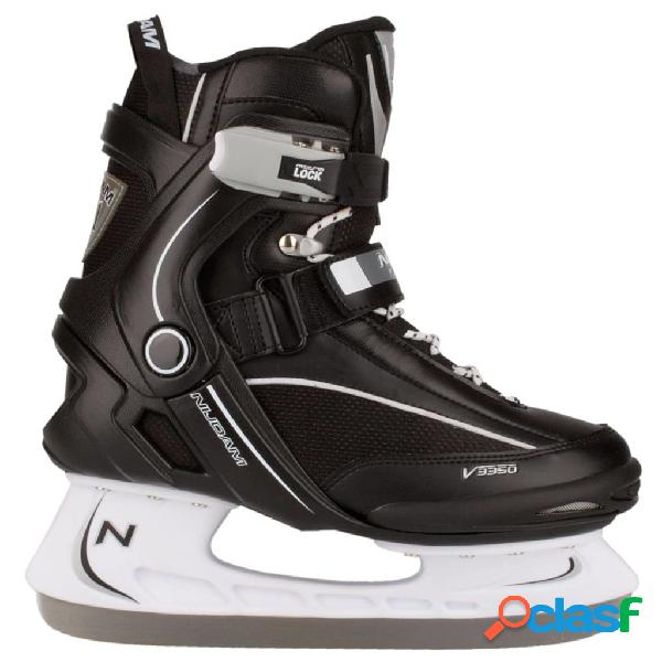 Nijdam patines para hockey sobre hielo talla 39 3350-ZWW-39