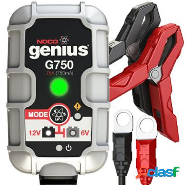 Noco Cargador de batería G750, 6 V / 12 V, 0.75 A