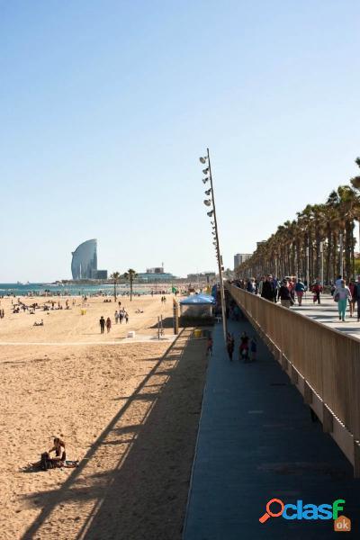 Piso en el popular barrio de la Barceloneta