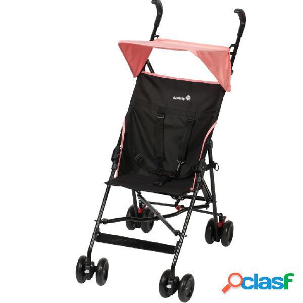 Safety 1st Baby Carrito de bebé con capota Peps negro rosa