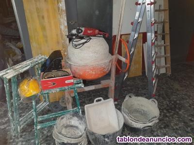 Vendo herramientas para albañil