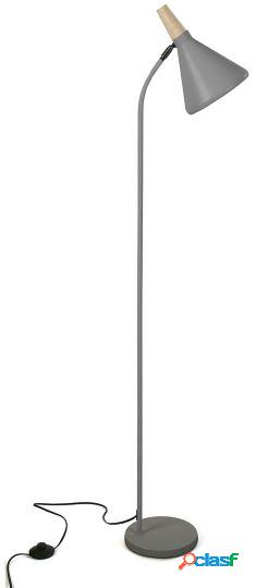 Wellindal Lámpara de pie maddie gris