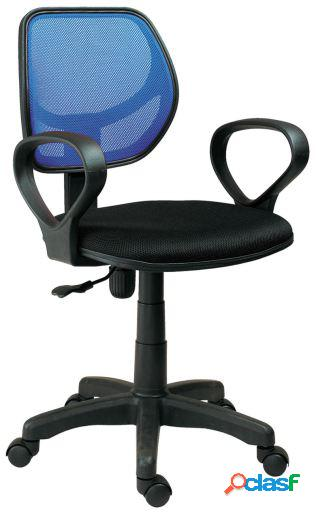 Wellindal Silla de escritorio giratoria modelo Student