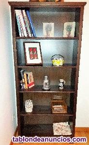 Libreria de madera ikea