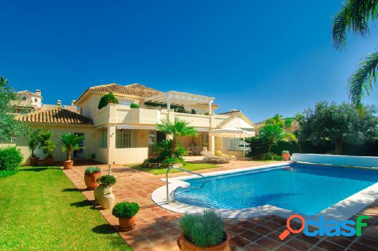 Maravillosa villa en Marbella con vistas al mar