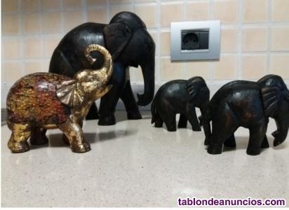 4 elefantes