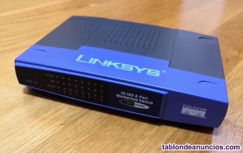 Switch linksys/cisco de 8 puertos.