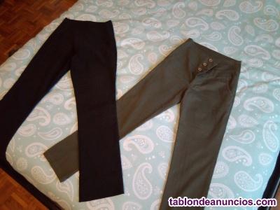 Vendo 2 pantalones de mujer, talla s