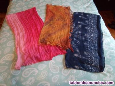 Vendo pañuelos de vestir de mujer