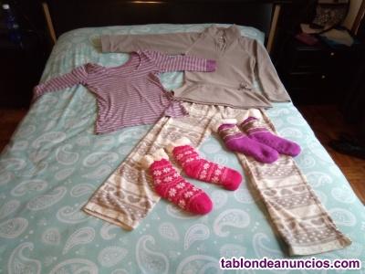 Vendo pijamas de mujer talla s