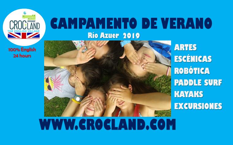 CAMPAMENTO DE VERANO EN INGLÉS CON ROBÓTICA CROCLAND