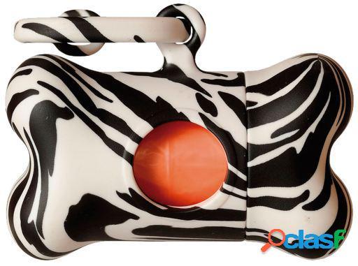 United Pets Dispensador de bolsas Bon Ton Cebra