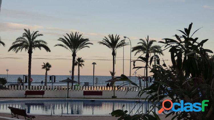 Apartamento en venta en 1ª línea de playa San Juan con