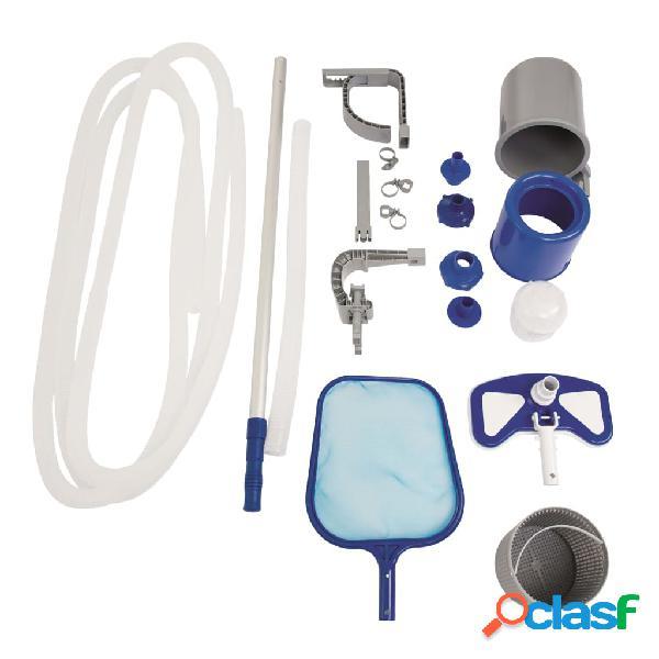 Bestway Kit de mantenimiento de piscina Flowclear Deluxe