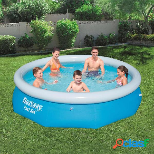 Bestway Piscina redonda inflable Fast Set 305x76 cm 57266