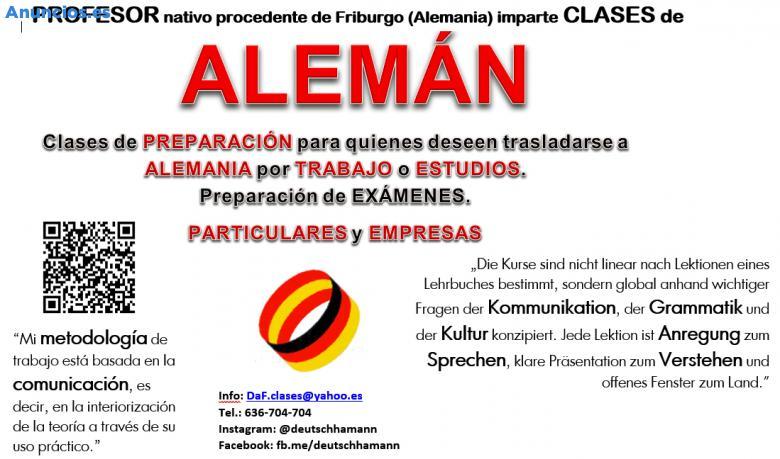 Deutschunterricht - Clases De ALEMÁN