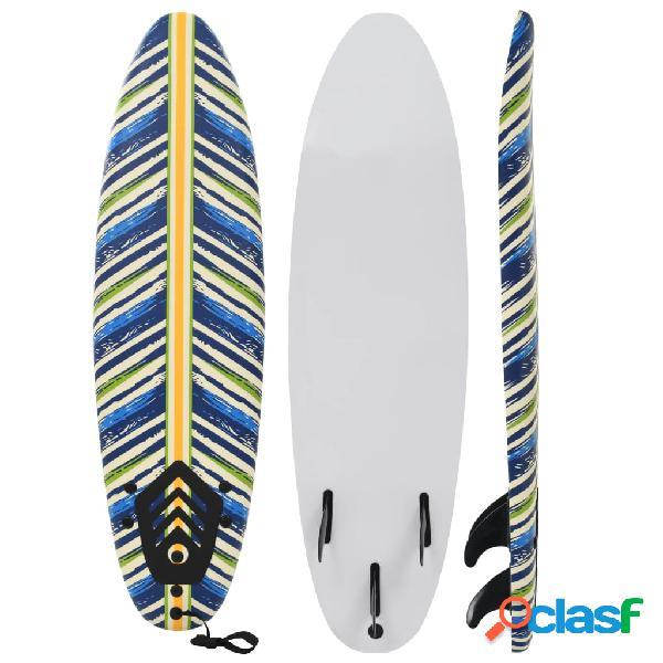 Tabla de surf 170 cm hojas
