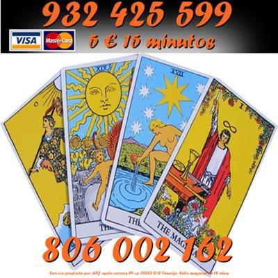 Tarot Oferta Visa 8€ 20 min. Línea 806 por sólo 0,42 cm.
