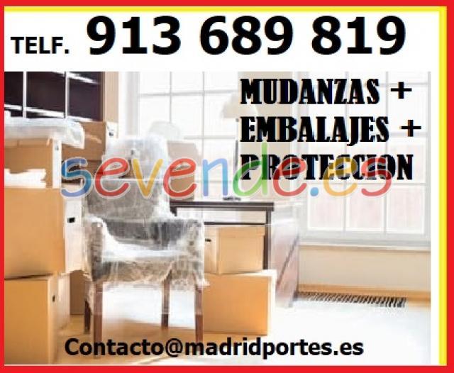 MUDANZAS EN VIVIENDAS TRASTEROS 913x6x8x
