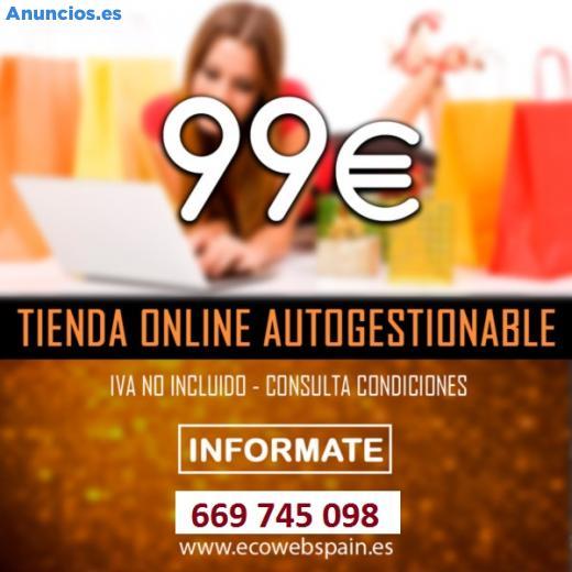 TIENDA ONLINE DESDE SOLO 99 '�