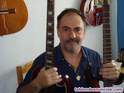 Clases de guitarra electrica, clasica o acustica.